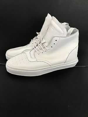 Clear Weather Men The One-Thirty Mid Top (white / leather) Sneaker Size 10.5