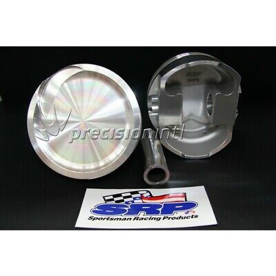 SRP 270023 8CYL SRP FORGED DISH PISTONS  040 -16cc FORD 410C STROKER