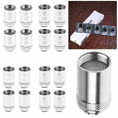 5/10Pcs 0.5 0.6 1.0 1.5 Ω OHM BF SS316 Coil Head Atomization Core For CUBIS/PRO