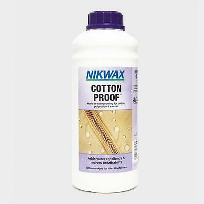 Nikwax Cotton Proofer 1 Litre Fabric Washing Treatment One Colour