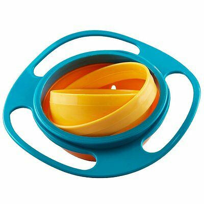 Magic bowl for baby and children with lid not to spill food