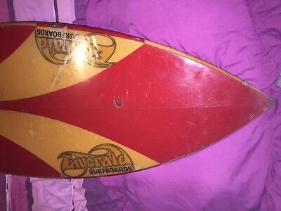 vintage old surfboard