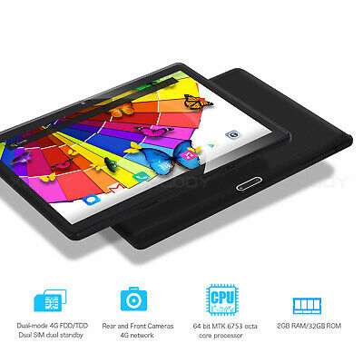 "XGODY Tablet de 10.1"" de pantalla IPS Android 32GB 3G Dual SIM Quad Core 2GB RAM"