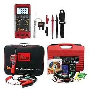 POWER PROBE Combo: Power Probe Digital Multimeter, the Hook & Short & Open CIR