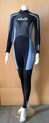 Full Length Steamer Wetsuit for Women 2/3mm Back Zip, Size Available: 10, 12