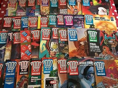 2000AD Progs 751-800  50 issues / programmes run comic collection -  FREE GIFTS