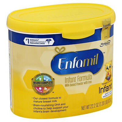New Case of Enfamil Infant Baby Formula (contains 6 in a case) (No Reserve)