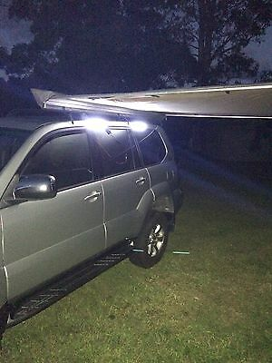 LED LIGHT BARS,light kit Camping Caravan Boat 4x4 Awning Magnetic with Carry BAG