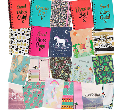 Colourful Little Notebook Ideas Notebooks Pads Diary Jotter Note Book Gift
