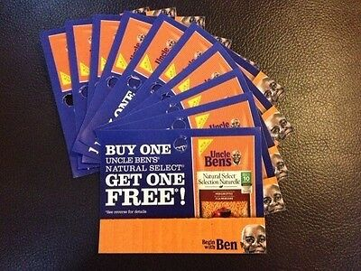 ** SAVE BIG on UNCLE BEN'S NATURAL SELECT **