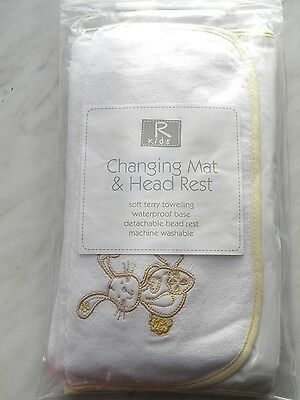 Baby Travel Changing Mat with Head Rest Ideal for home or changing bag