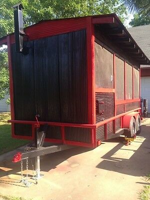 Enclosed Smoker Bbq Trailer - Inspected In Arkansas - Concession - Financing