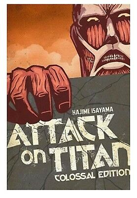 Attack on Titan Colossal Edition Manga (Vols 1-5)