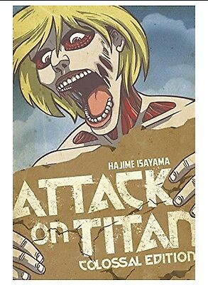 Attack on Titan Colossal Edition Manga 2 (Vols 6-10)