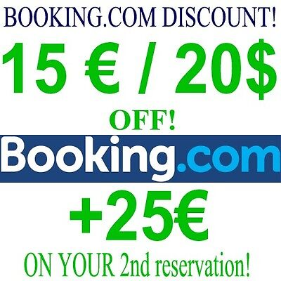 15£ OFF BOOKING.COM DISCOUNT Promo Code CASHBACK NEW ACCOUNTS - READ LISTING