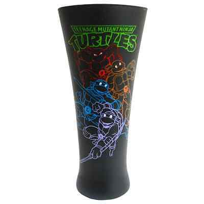 Teenage Mutant Ninja Turtles Neon Turtles Geriffeltes Glas