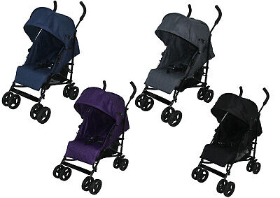 Arc Baby Stroller Pushchair Buggy Pram Lightweight Wide Seat