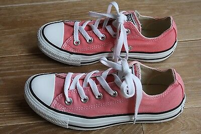 TBE ! Superbes Baskets Basses CONVERSE All Star ROSE Point 36