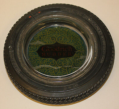 Goodyear Rubber Tire Ashtray, Antique Goodrich Collectible