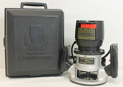 Craftsman Corded Router - 315.174770 - 7.5 AMP ,  25000 RPM - Fixed Base