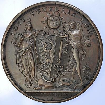 Switzerland - 1738 Resolution of the unrest medal by Dassier