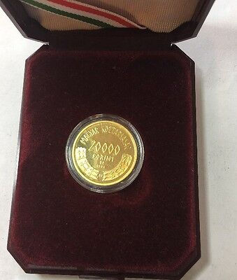 Hungary 20,000 forint 1996 Two Horseman  1100 th anniversary of Magyar Conquest.