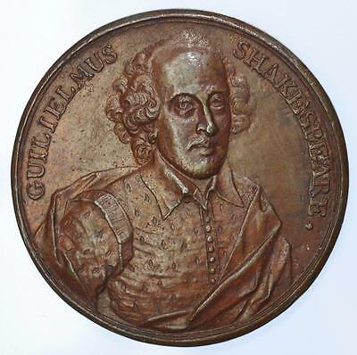 England -  1740 William Shakespeare medal by Dassier