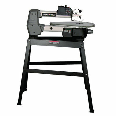 Porter-Cable 1.6 Amp 18 in. Variable Speed Scroll Saw with Stand PCB375SS New