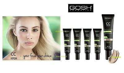 GOSH CC cream illuminating foundation - oil free in 06 golden  SPF10 - 30ml