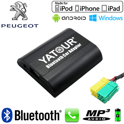 Interface Kit mains libres Bluetooth et streaming audio PEUGEOT 107 - Neuf