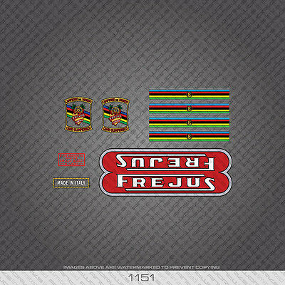 Decals 01600 Frejus Bicycle Stickers Transfers
