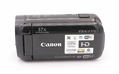 Canon VIXIA HF R70 16GB Full HD Camcorder - Black (US Model Camcorder)