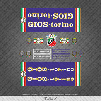 Decals 07111 Gios Bicycle Fork Stickers Transfers
