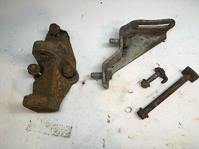 1992 Acura Integra Oem B Series Alternator Mounting Brackets & Bolts B18 B16 B17