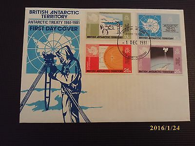 British Antarctic Territory First Day Cover