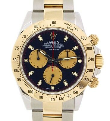 Rolex DAYTONA 116523 YELLOW GOLD STEEL, 40MM 116523