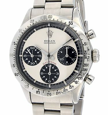 Rolex PAUL NEWMAN DAYTONA CHRONOGRAPH 6262 STEEL, 37MM 6262