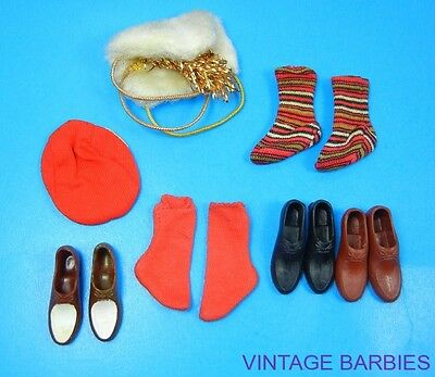 Ken Doll Mixed Accessory Lot Excellent ~ Vintage 1960's
