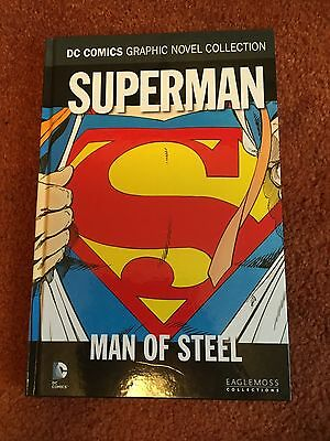 DC COMICS GRAPHIC NOVEL COLLECTION - Volume 10 - Superman    Man Of Steel