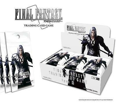 Final Fantasy TCG Opus 3 III Booster Box 36 Packs Pre-Order July 2017