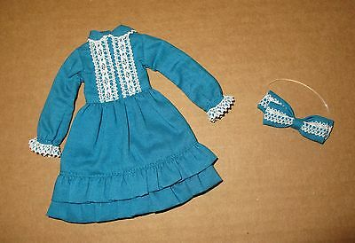 Petworks Ruruko Blue Lady Dress with Matching Hair Bow Pure Neemo XS