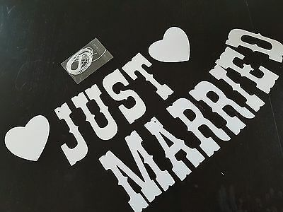 banderole mariage neuf shabby chic just married