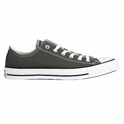 Converse All Star OX Low Top Shoes Charcoal Men's 12/ Women's 14