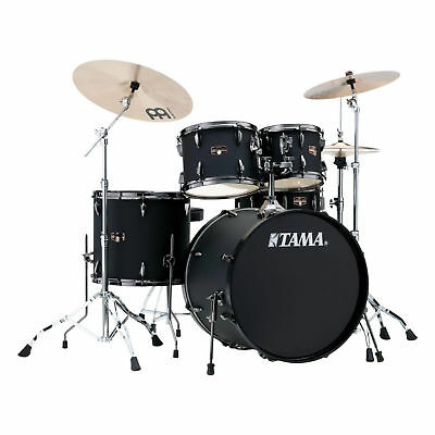 Tama Imperialstar 5-Piece Complete Kit Blacked Out Black