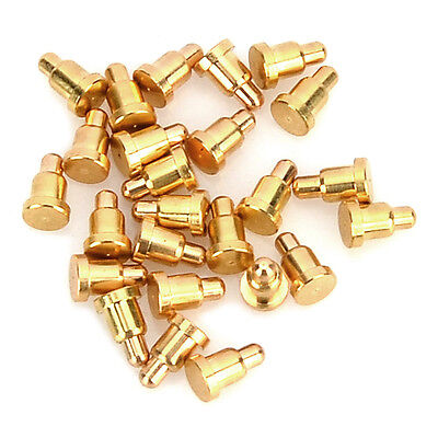 25 pieces Golden Copper + gold plating 2.0*3.2MM Current Pogo Pin Probe