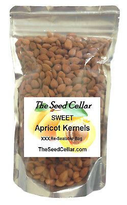 Bitter Apricot Kernels - Seeds Natural & Raw 1Kg, 500g, 250g FREE UK Delivery Fa