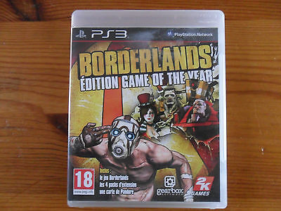 Borderlands - Edition Game of The Year PS3