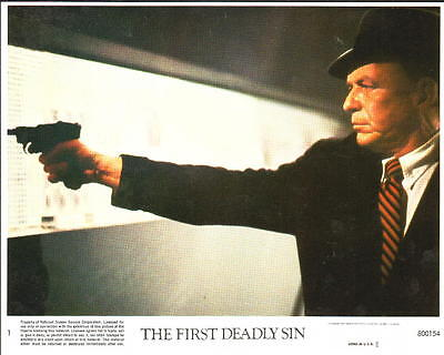 The First Deadly Sin 1980 Frank Sinatra 8 Original Foh Color Lobby Cards