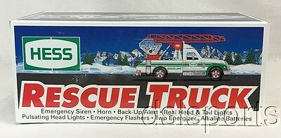 1994 Hess Toy Rescue Truck Mint In Original Box