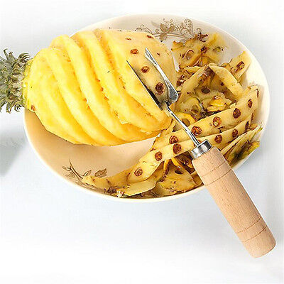 1Pcs Slicers Cutter Easy Cleaning Pineapple Peel Knife Tools Fruit Peeler
